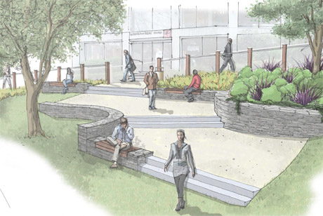 Landscape Architecture Perspective Drawings land landscape architects, queenstown - 3d illustrations / elevations