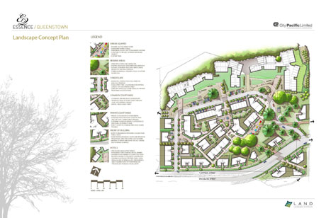 Land landscape architects queenstown urban design for Landscape design sheets
