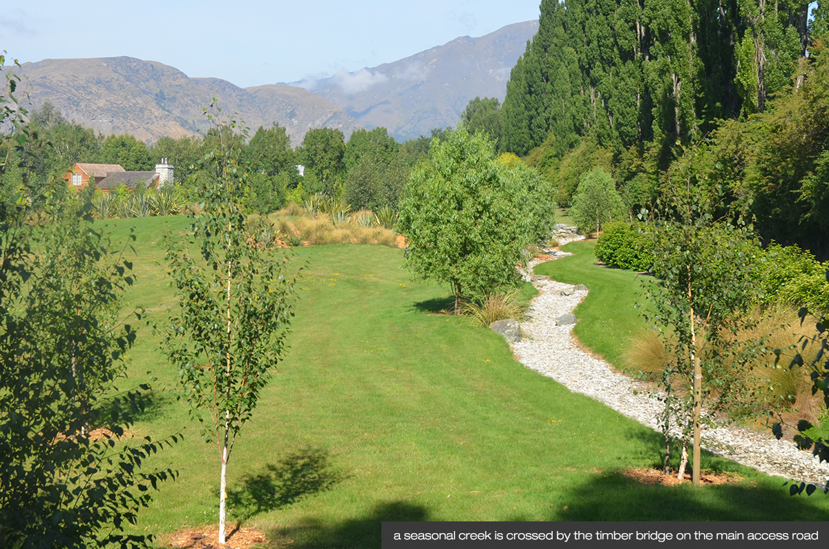 Land landscape architects queenstown subdivision and for Garden design queenstown