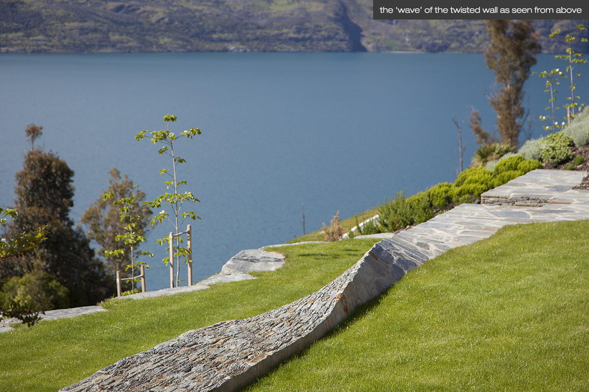 land landscape architects queenstown residential garden