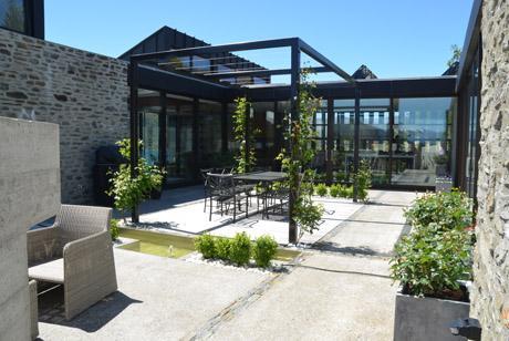 LAND Landscape Architects Queenstown - Residential Garden Design - Cliff Top House
