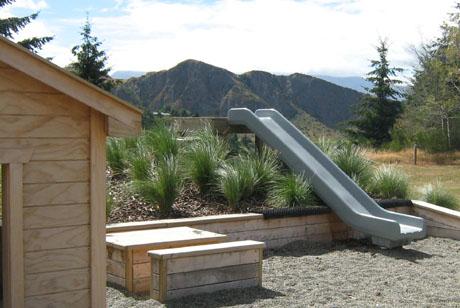 Land landscape architects queenstown children 39 s for Garden design queenstown